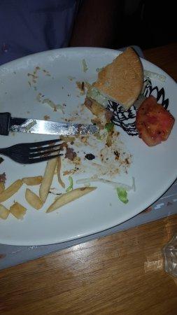 Table View, Sydafrika: my husbands burger