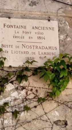 Fontaine Nostradamus