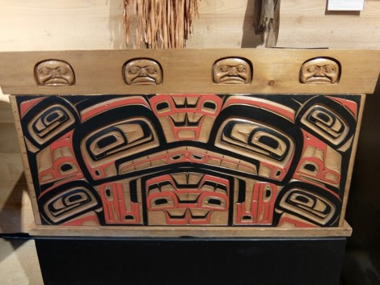 SFU Museum of Archaeology & Ethnology : Cedar chest