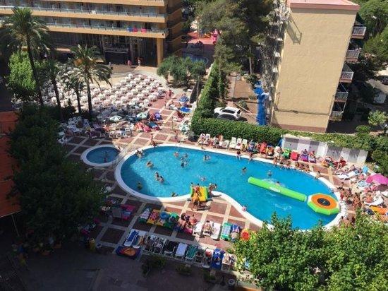 MedPlaya Hotel Calypso: View from room 507