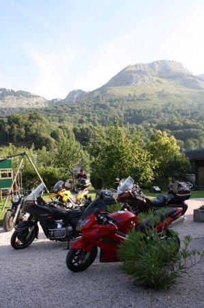 Le Clos de Batsurguère : Relais motards