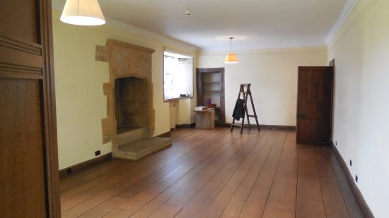 Ilminster, UK: A room in Barrington Court