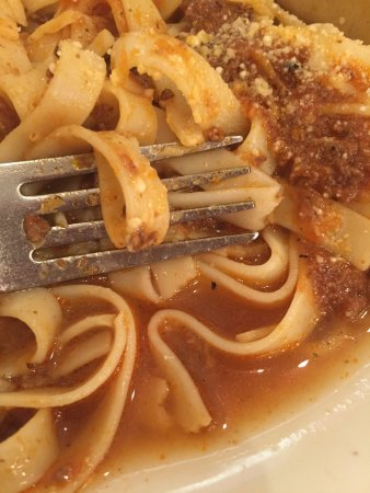 Longview, TX: Watery Bolognese Sauce