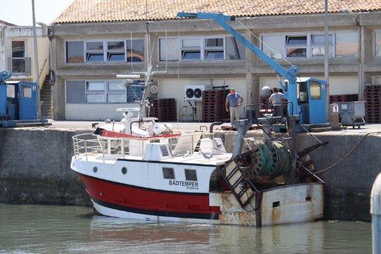 chalutier quai picture of le port de la cotiniere saint pierre d 39 oleron tripadvisor. Black Bedroom Furniture Sets. Home Design Ideas