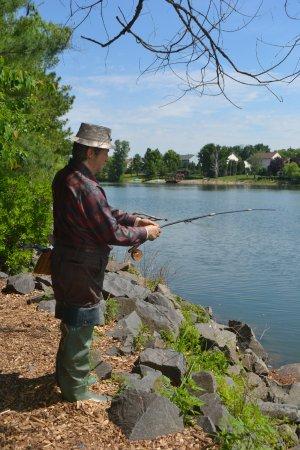 Hamilton, NJ: Fisherman