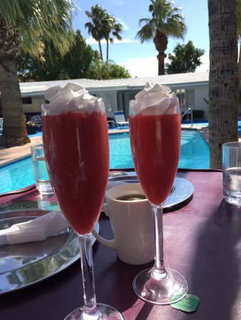 Palm Springs Rendezvous: First breakfast course
