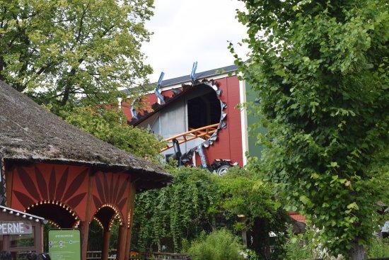Bakken - World's Oldest Amusement Park: Roller Coaster at Bakken
