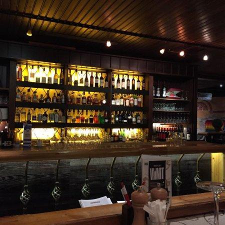 Vaasa, Finland: Well stocked bar...