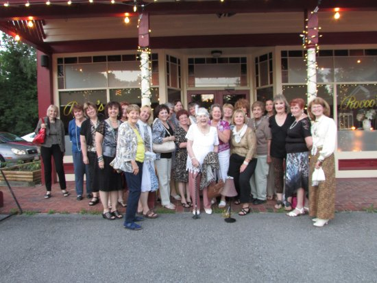 Clifton Park, NY: My group of ladies meet up once a month and go to different restaurant 1x mo. This was tops!