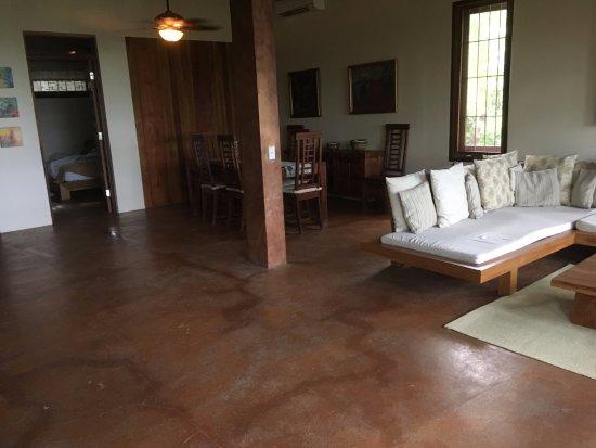 Casas de Soleil: Living/dining area in Casa Mirador