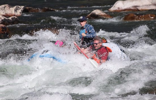 Sun Valley, ID: Morning exciting raft ride!