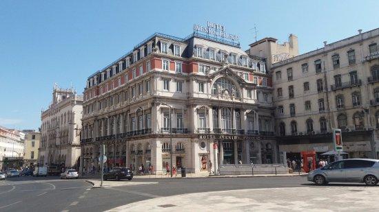 Hotel Avenida Palace: Vista ho hotel