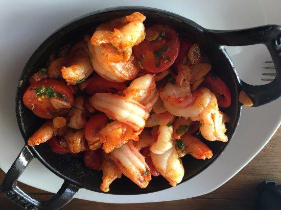 El Toro, Spanien: Fried Scampis