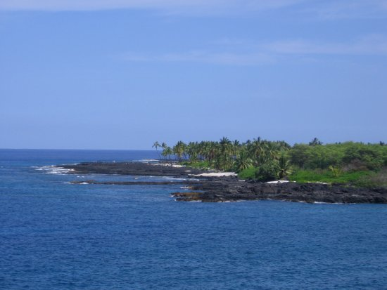 Pu'uhonua O Honaunau National Historical Park: The picnic area from the 1871 Trail