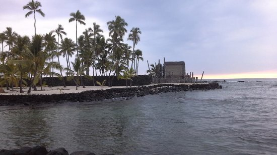 Pu'uhonua O Honaunau National Historical Park: The Royal Grounds and bay