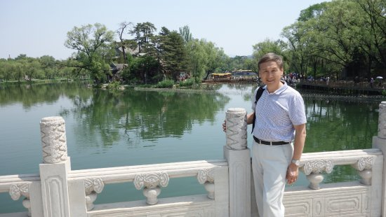Chengde, China: Me in the picture