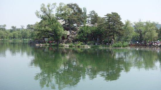 Chengde, China: A lake view