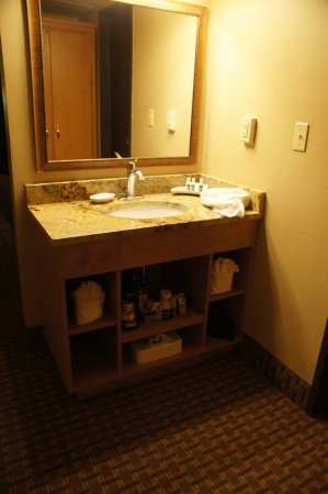 BEST WESTERN PLUS GranTree Inn: vanity