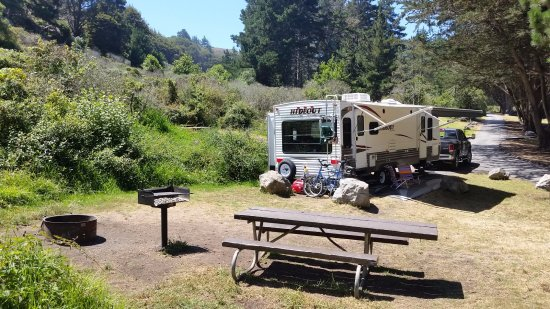 Plaskett Creek Campground: Site 12 toward the south part of campground