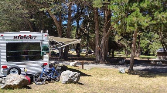 Plaskett Creek Campground: Site 12 toward ocean, West