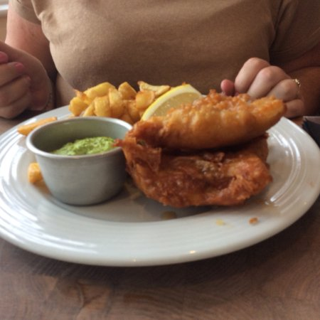 Really tasty food and child friendly review of black for Fish and beer