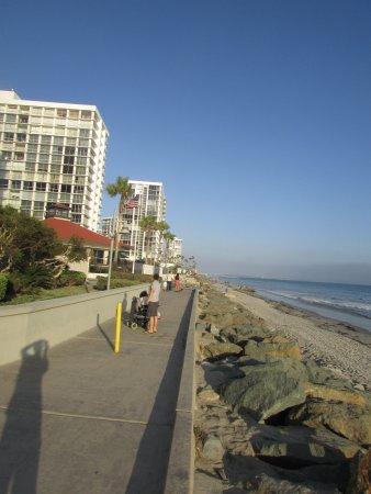 Коронадо, Калифорния: Vista do calçadão
