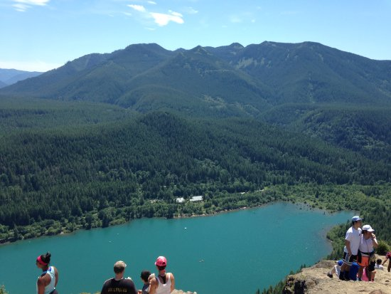 North Bend, WA: View from the top