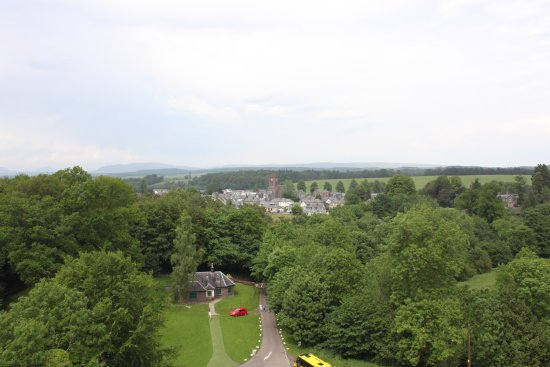 Doune, UK: View from the top