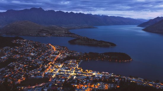 Rangiora, New Zealand: Another day ends in Queenstown