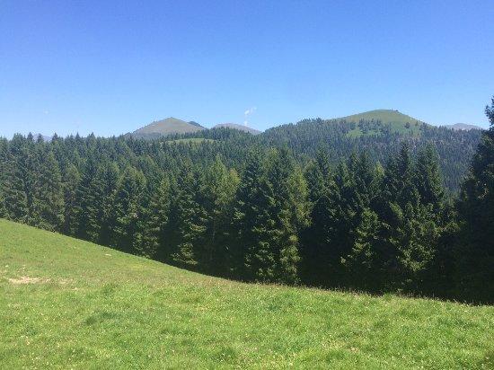 vista dal rifugio Alpe di Colonno