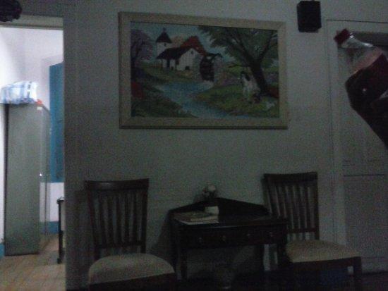 Hotel Colonial : Recepção do hotel