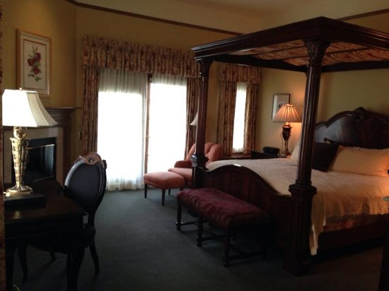 The Herrington Inn & Spa: My favorite room overlooking the Fox River.