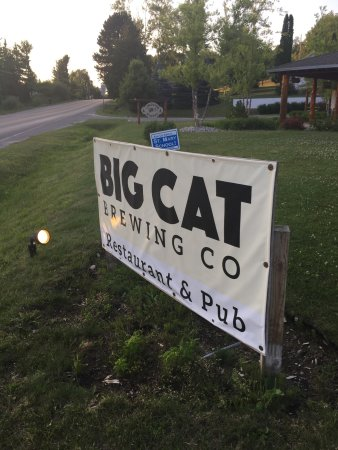 Cedar, Мичиган: Name change to Big Cat Brewing Co