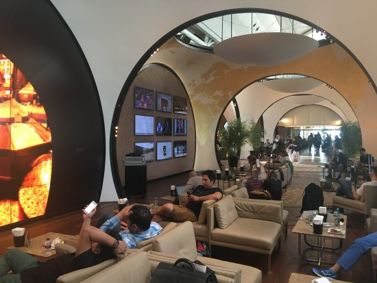 Turkish Airlines Lounge - Departures