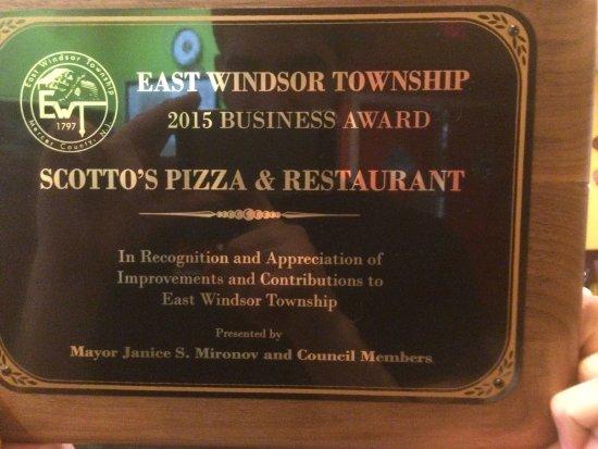 East Windsor, NJ: Scotto's Ristorante