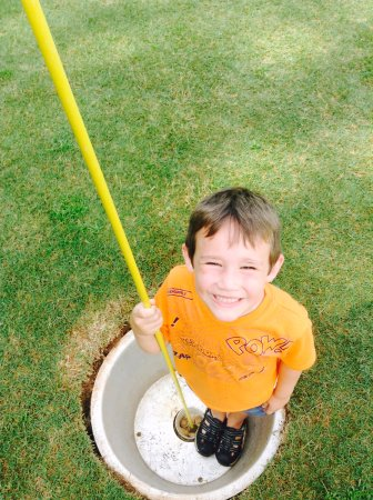 Lake Lure, Carolina del Norte: Foot Golf Fun