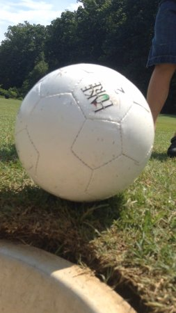 Lake Lure, NC: Foot Golf Fun