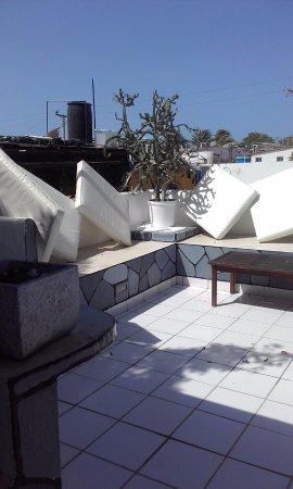 Posada Lagunita: El balcón para los tragos...