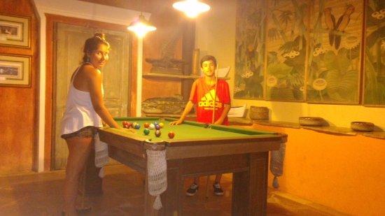 Pousada Le Palmier: Area de juegos