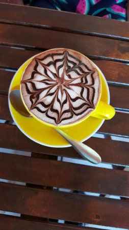 Hallidays Point, Australia: Delicious dark hot chocolate