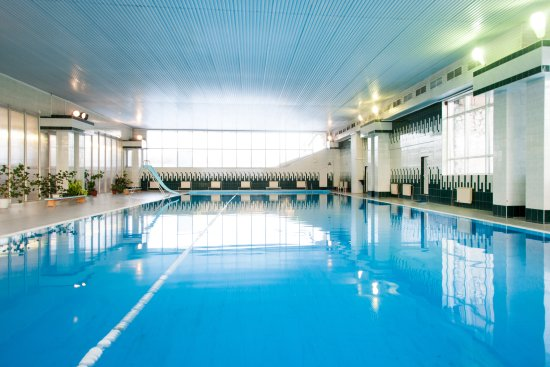 Байкальск, Россия: 25 метровый бассейн