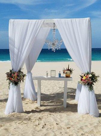 Hard Rock Hotel Punta Cana Beach Wedding Gazebo