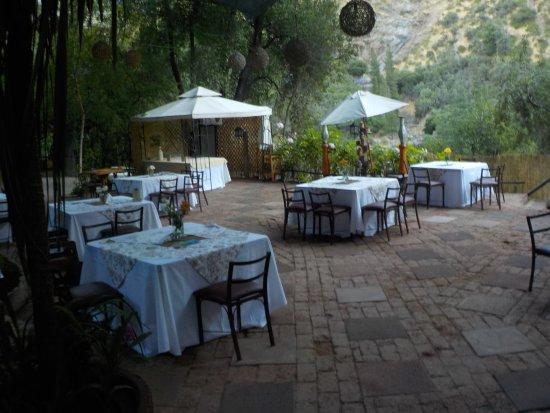 Cascada de las Animas: Restaurant