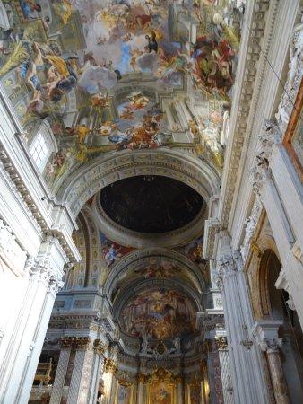 Chiesa di Sant'Ignazio di Loyola: Boveda y cúpula nave central