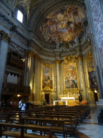 Chiesa di Sant'Ignazio di Loyola: Altar Mayor