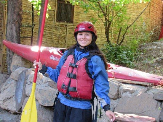San Alfonso, Chili: Rafting