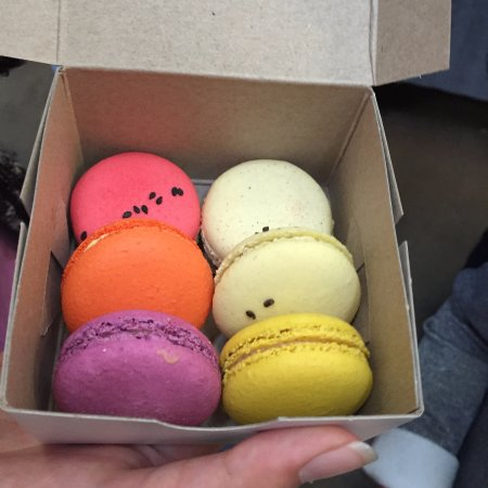 Granville Island Public Market: Macarons from the French Baker