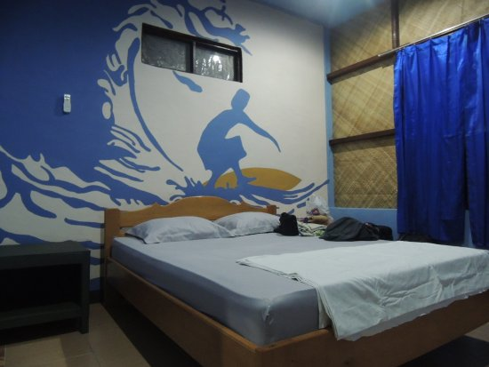 Cibal, Indonezja: Double bed with aircon and fan