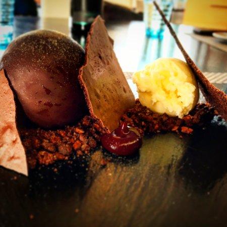 Te Awanga, نيوزيلندا: Chocoholic dessert