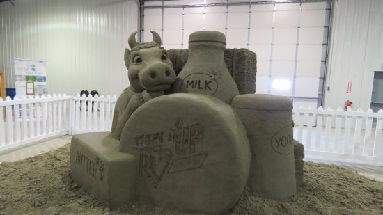 West Fargo, Dakota del Nord: Sand sculpture